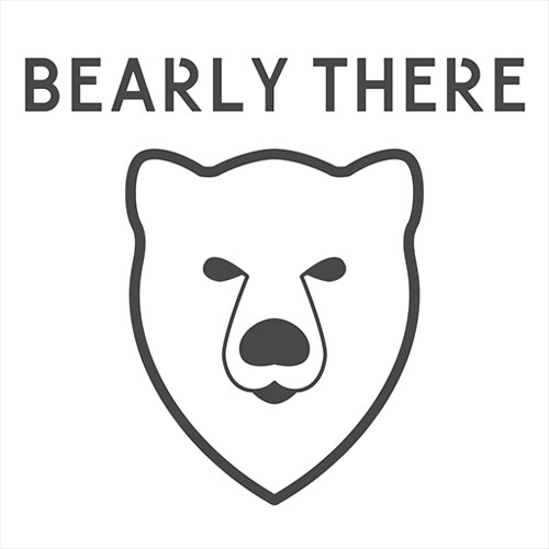 Bearly There Media logo redesign