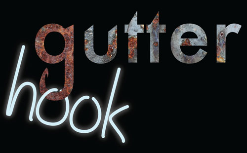Gutter Hook Band Logo